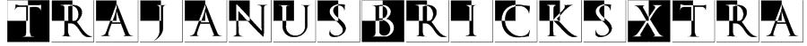 TrajanusBricksXtra Font
