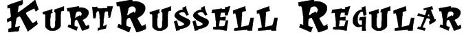KurtRussell Regular Font