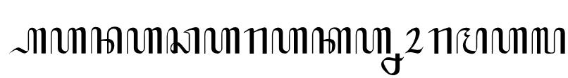 Hanacaraka Normal Font