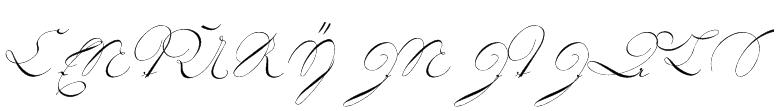18th Century Initials Font