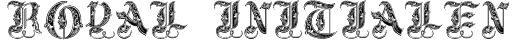Royal Initialen Font