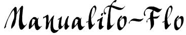 Manualito-Flo Font