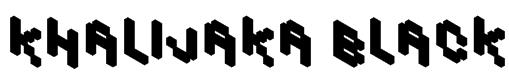 Khalijaka Black Font