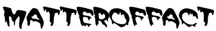 MATTEROFFACT Font