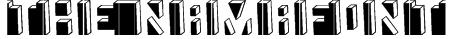 The Namafont Font