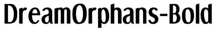 DreamOrphans-Bold Font