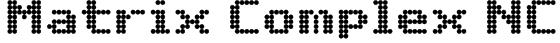 Matrix Complex NC Font