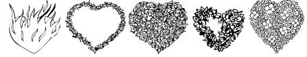 KR Valentines 2006 Eight Font