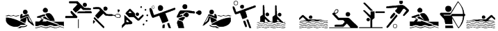 Olympicons Regular Font