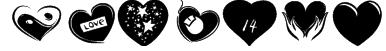 KR Valentines 2006 Six Font