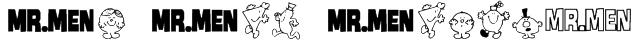 Mr Men Medium Font