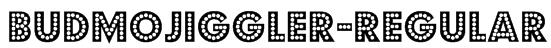 BudmoJiggler-Regular Font