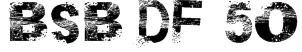 BSB DF 50 Font