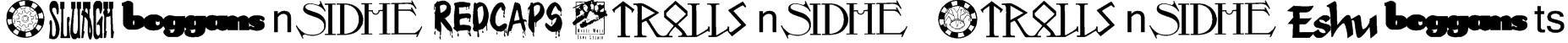 Changeling Dingbats Font