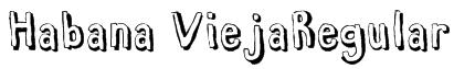 Habana ViejaRegular Font