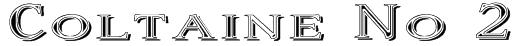 Coltaine No 2 Font