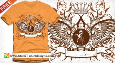 bird,creative,download,emblem,horse,illustration,illustrator,original,pack,photoshop,vector,shield,floral,modern,crown,unique,vectors,wings,winged,quality,banner,fresh,high quality,vector graphic,eagle wings,tee shirt vector