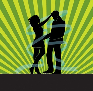 couple,creative,design,download,eps,graphic,green,illustration,illustrator,man,original,vector,web,woman,people,background,silhouette,unique,vectors,rays,quality,stylish,fresh,high quality,couple silhouette,lovers,radial vector