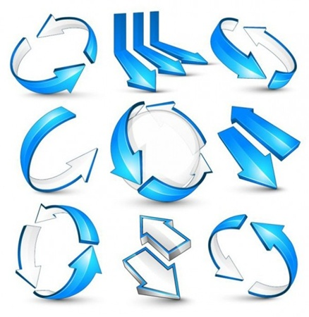 blue,circle,creative,design,download,elements,graphic,illustrator,new,original,set,vector,web,white,arrows,detailed,interface,unique,vectors,quality,circular,stylish,fresh,high quality,ui elements,hires,2 way,bent,directional arrows vector