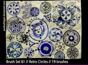 design,shapes,flowers,sketch,circles,retro,decoration,ornaments brush