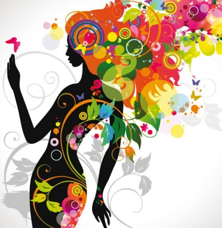 eps,cdr,vectors,beauty,photoshop resources,psd source,sillhouette,variety,pageant vector