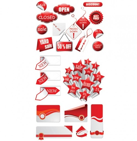 clean,ecommerce,eps,new,psd,red,shop,shopping,cards,shadow,cdr,supermarket,labels,vectors,icons,signs,badges,discounts,vector pack,photoshop source files vector
