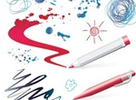 Scribble Doodle Pen Drawings Vector Set