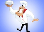 Cartoon Chef Vector Character