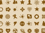 34 Vector Shapes Web Icons Pack