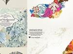Vintage Floral Pattern Vectors