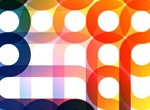 Colorful Circles Vector Art