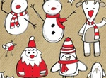 Christmas Themed Sketched Vector Pack