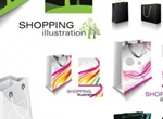 Collection Of Shopping Bags Vector Graphics