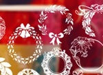 Christmas Wreath Brushes