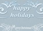 Christmas Holidays Text Brushes