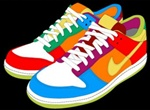 Colorful Vector Sneakers
