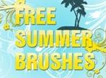 Summer Photoshop Brushes