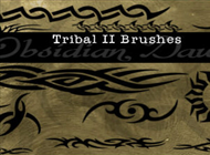 Tribal II Photoshop & GIMP Brushes