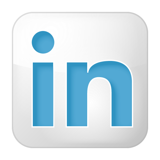 Box, Linkedin, Social, White Icon