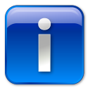 Blue, Box, Info, Information Icon