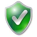 Check, Checked, Green, Protected, Shield Icon