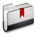 Bookmarks, Folder, Metal Icon