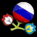 Euro, Russia Icon