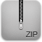 Iphone, Zip Icon