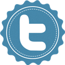 Font, Twitter, Vintage Icon