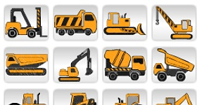 Free Construction Vehicles Icons