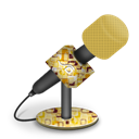 Foam, Mic, Retropeach Icon