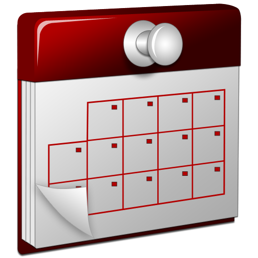 Calendar Icon Png Transparent : D calendar red icon download free icons