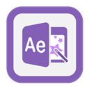 Aftereffects, Outline Icon