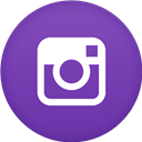 Circle, Flat, Instagram Icon